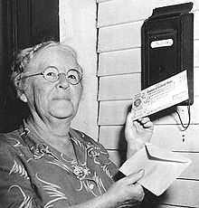 Ida May Fuller and the social security check