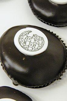 Wikipedia Day cupcakes.Washington DC event, 2010