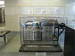 Atanasoff–Berry Computer replica at Iowa State University