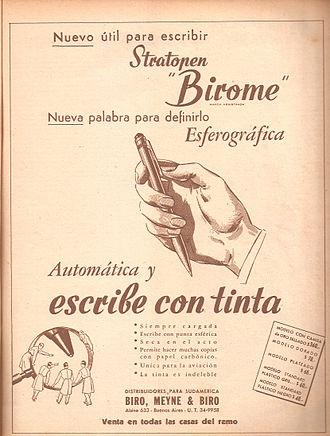 1945 Ad, Argentina