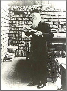 Murray in the Scriptorium, 1880s