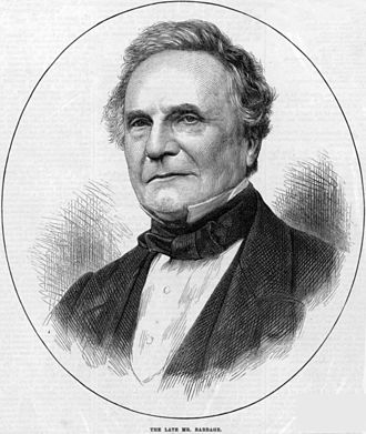 Charles Babbage in the London Illustrated News, 1871