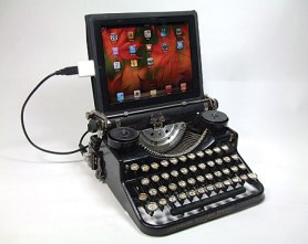 TypewriterWithScreen