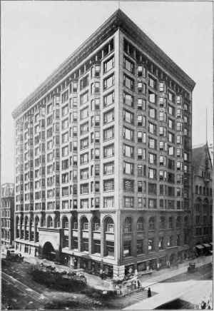 Stock Exchange, Chicago, 1903