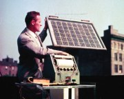 Bell Labs solar battery, 1954