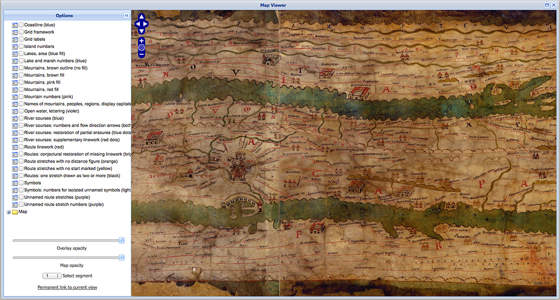 The Only Roman World Map Known To Have Survived Antiquity The