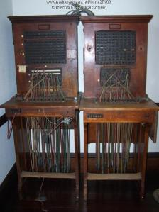 Two switchboards were used on Islesboro, Maine from ca. 1915 to 1962