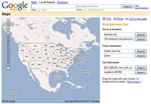 Google Maps Mapping the World 2005-2015 | The Story of Information