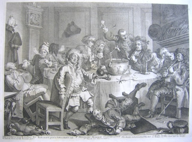 Hogarth_MidnightModernConversation_1809