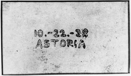 First xerographic copy - 10-22-38 ASTORIA. Source: Wikipedia