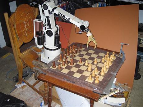 chess playing robot 2009